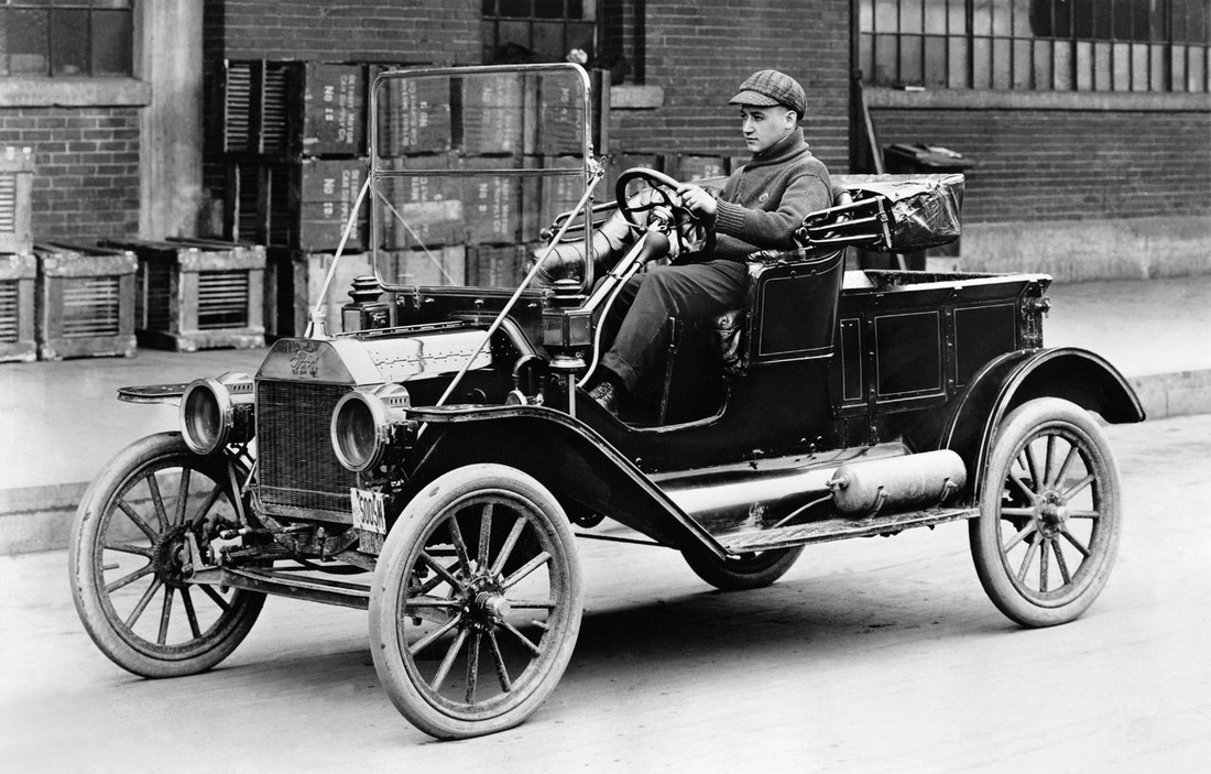 The Automobile - Industrial Revolution